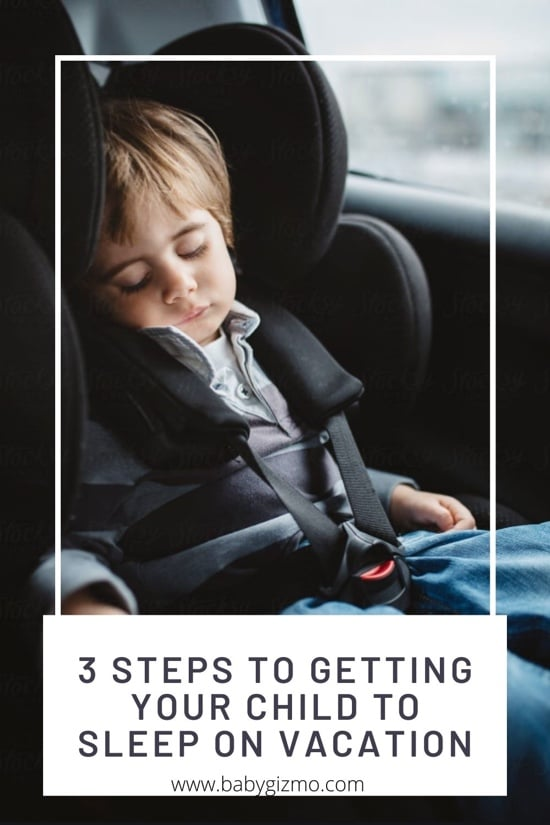 getting your child to sleep on vacation