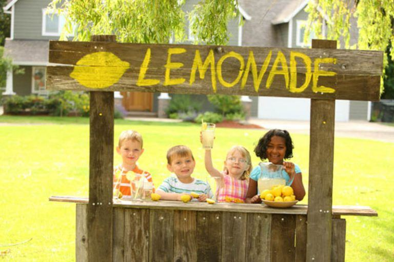5 Year Old Given Hefty Fine for Selling Lemonade