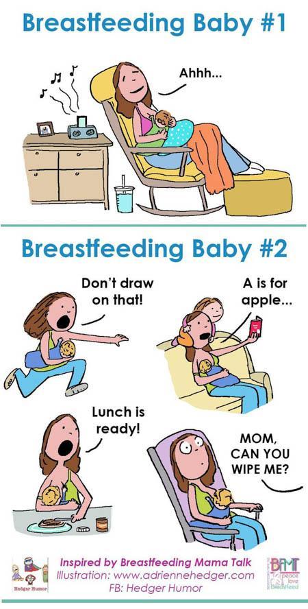 preparing oldest breastfeeding