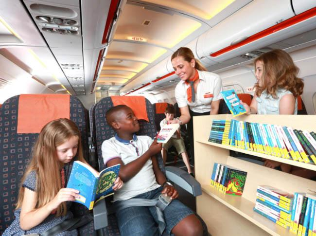 """Flybraries""Are a Thing Now, Thanks to EasyJet Airlines"