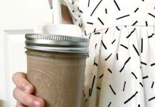 Chocolate Almond Butter Smoothie