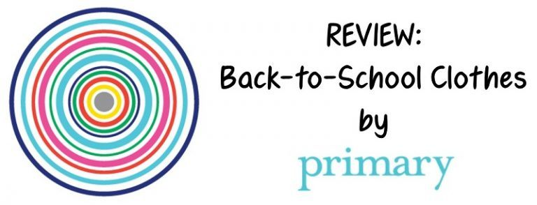 Review: Back-to-School Clothes by Primary