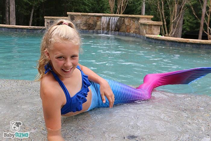 Mermaid Girl Fin Fun