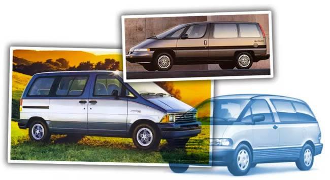 old minivans