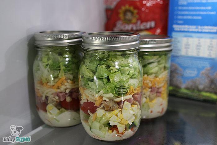 Borden Cheese Salad in a Jar