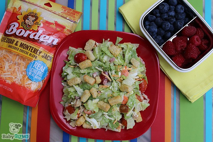 Chef Salad Borden Cheese