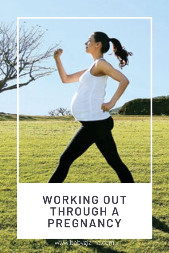 working out through pregnancy