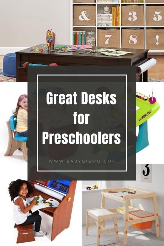 6 Great Desks for Your Preschooler