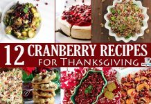12 Cranberry Recipes for Thanksgiving