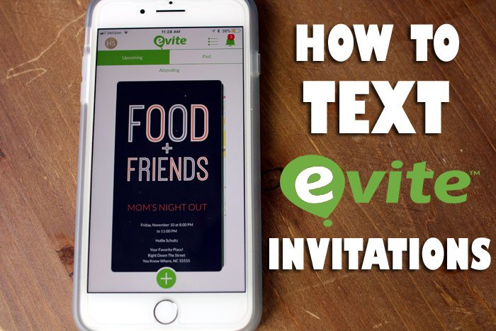 How to TEXT an Evite Invitation for Your Next Party