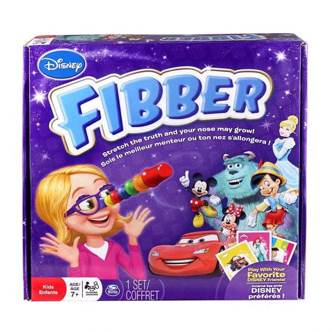 Review: Disney's Fibber Board Game