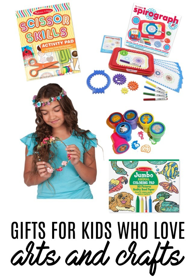 10 Gifts and Stocking Stuffers for Kids Who Love Arts and Crafts