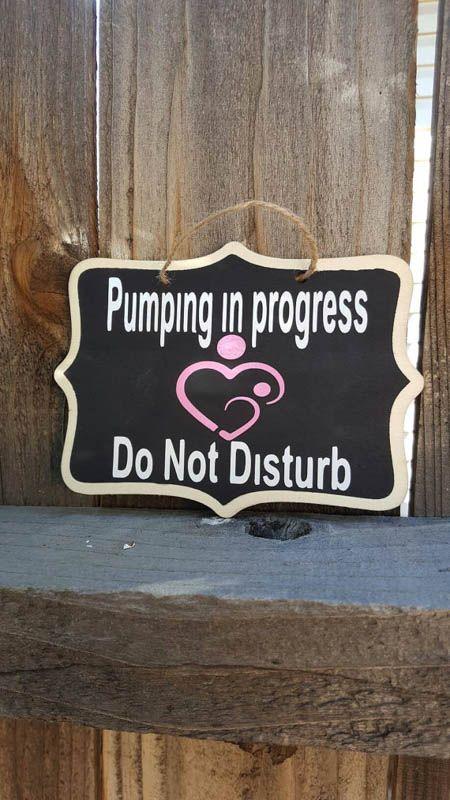 new mom pumping