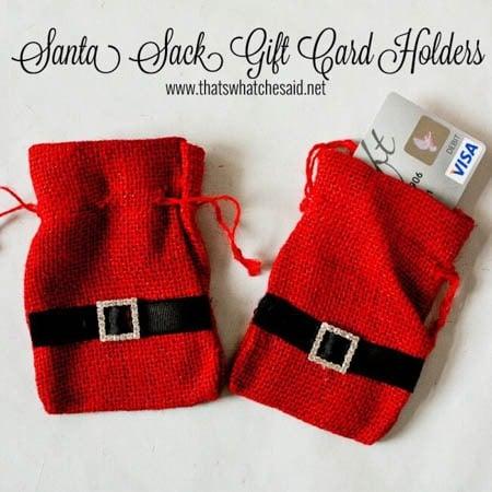 personalize santa bag