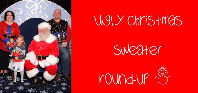 Ugly Christmas Sweater Round-Up