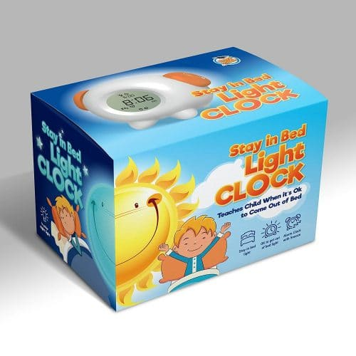 Review: Children's Stay in Bed Light Clock