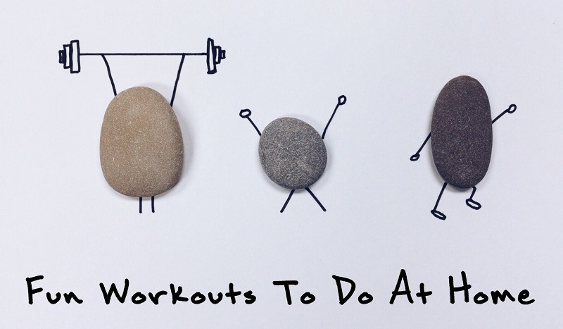 Fun Workouts To Do At Home