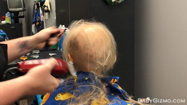 Alopecia Areata haircut