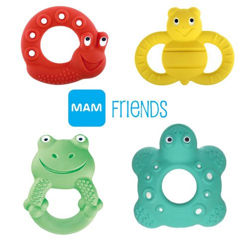 Meet the New MAM Friends Adorable Teethers For Baby