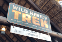 Disney Wild Africa Trek Animal Kingdom