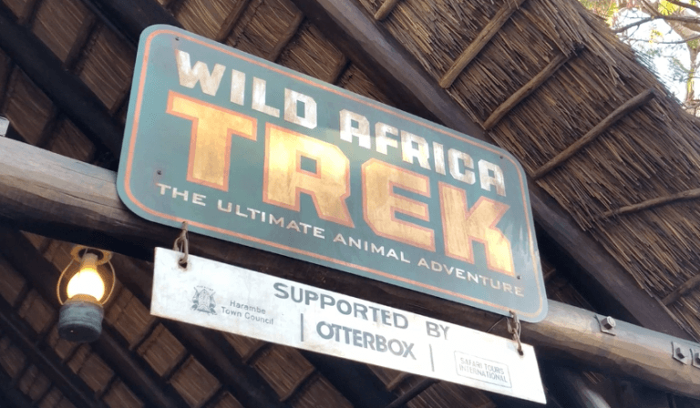 Walt Disney World Animal Kingdom Wild Africa Trek