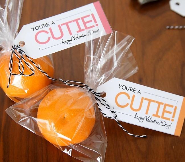 valentines with oranges