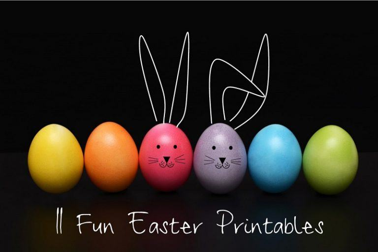 11 Fun Easter Printables