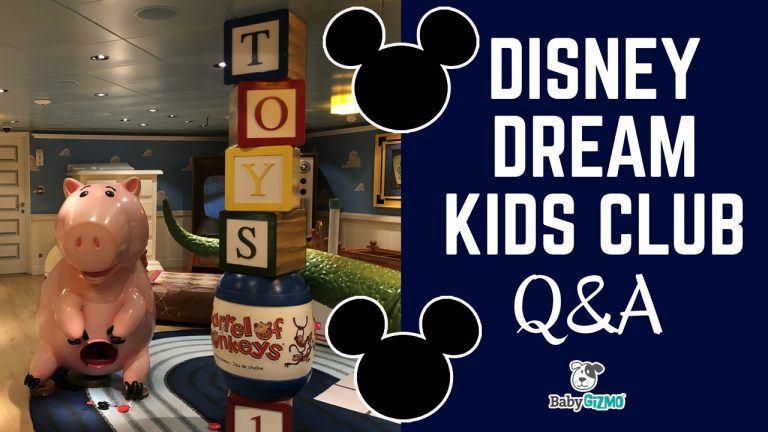 Disney Dream Cruise Kids Club Q&A