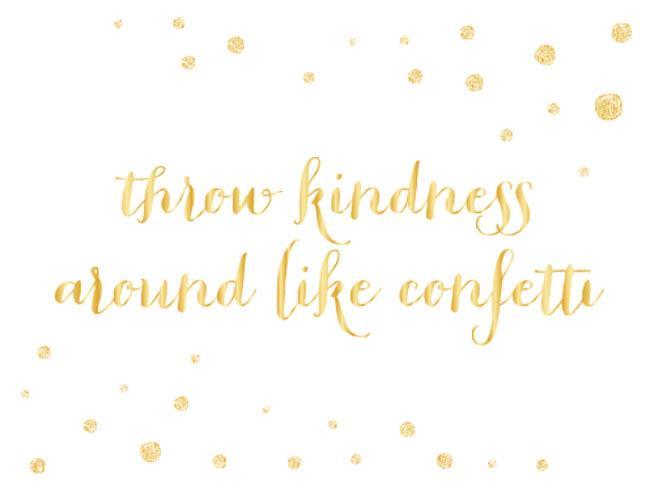 remember kindness