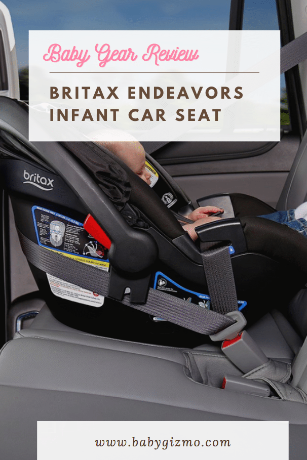 Britax Endeavors Infant Car Seat Review (VIDEO)