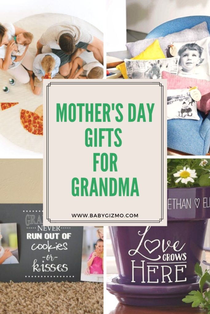 mothers day gifts for grandma collage