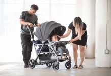 Joovy Caboose S Sit and Stand Double Stroller Sneak Peek