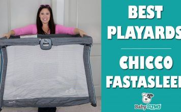 Chicco FastAsleep Playard Review and Giveaway