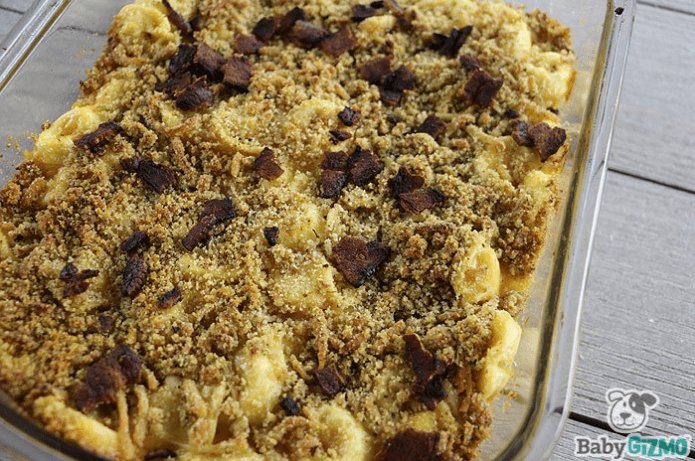 mac and cheese tortellini
