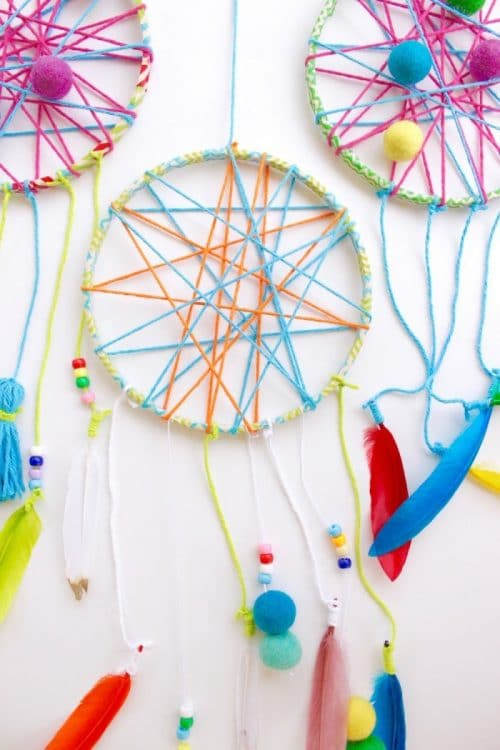 Bad Dreams and a Dreamcatcher Craft