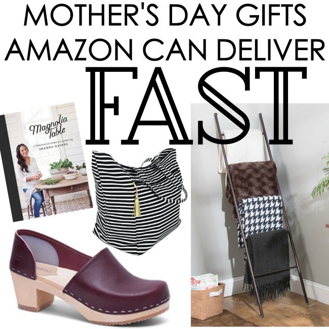 12 Mother's Day Gifts Amazon Can Deliver Fast