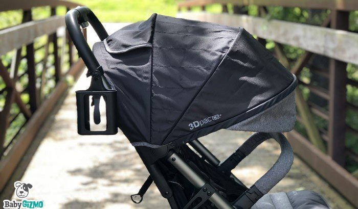 Stroller with big canopy