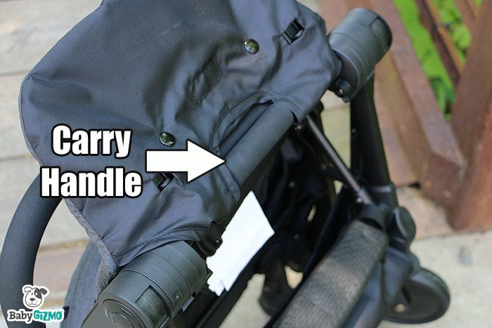 How to fold a bitsy stroller