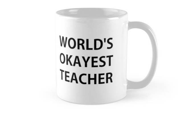 teacher waste mug