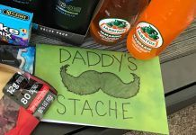 Simple but Perfect Father's Day Gift Idea: Daddy's Stache