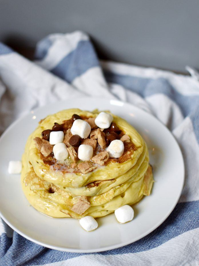 Recipe: Buttermilk S'more Pancakes