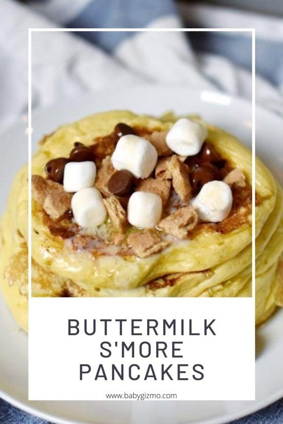 Buttermilk Smore Pancakes