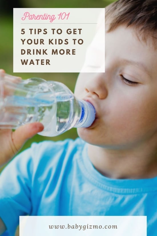 5 Tips to Get Your Kids to Drink More Water