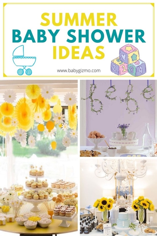 6 Summer-Inspired Baby Shower Ideas