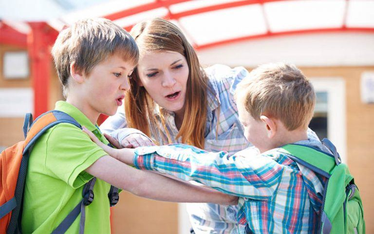Friends: It's Okay To Discipline My Kids