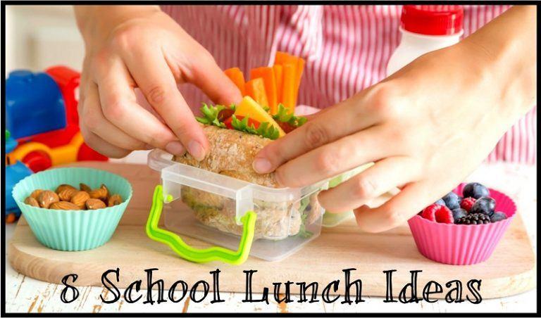 8 School Lunch Ideas