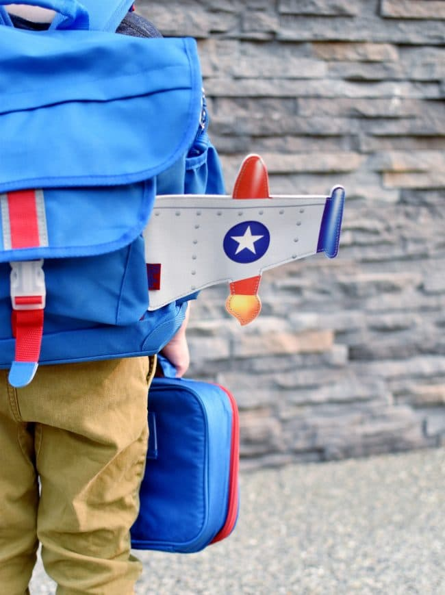 rocket backpack for kids