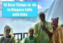What do Do in Niagara Falls with kids