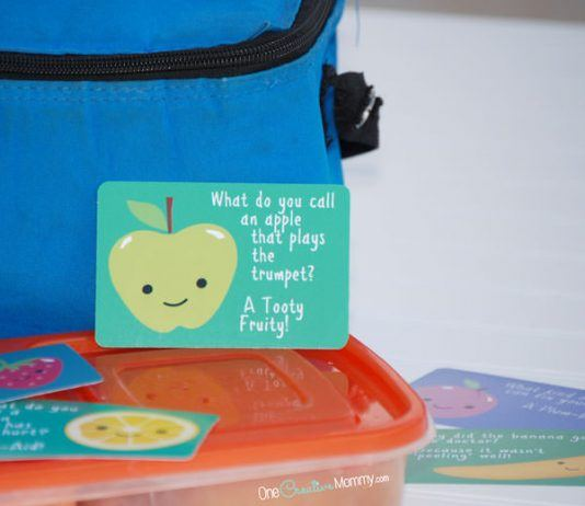 Easy Lunch Box Notes For Busy Parents