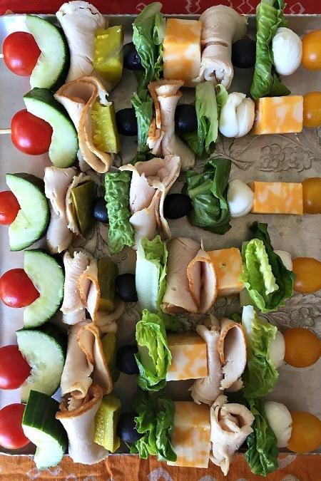 school lunch skewers